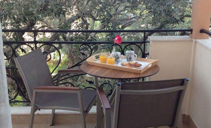 Vila Fotini tasos Limenas ekonomi soba balkon
