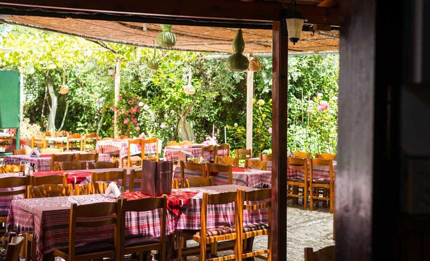 Vila Irida Potos tasos restoran