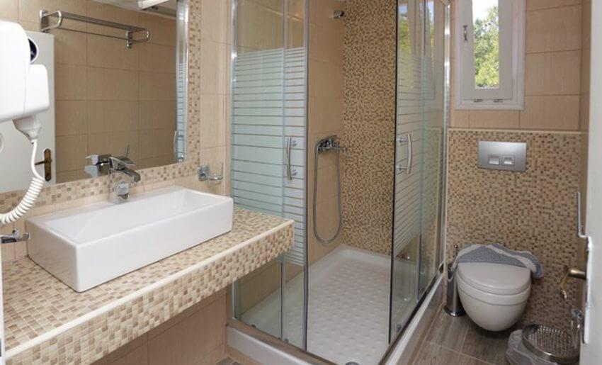 Vila Rodon House Limenarija Tasos kupatilo