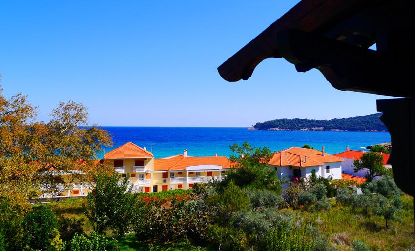 blue bay beach hotel tasos letovanje