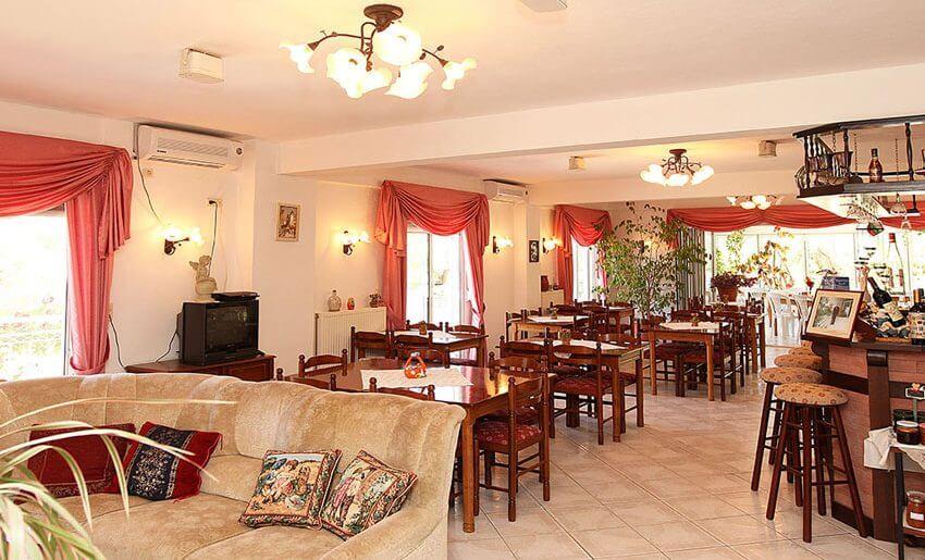 fourkos hotel tasos grcka restoran