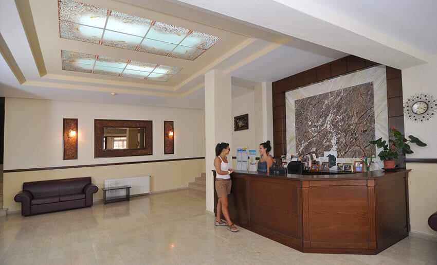 hotel makedonia potos recepcija