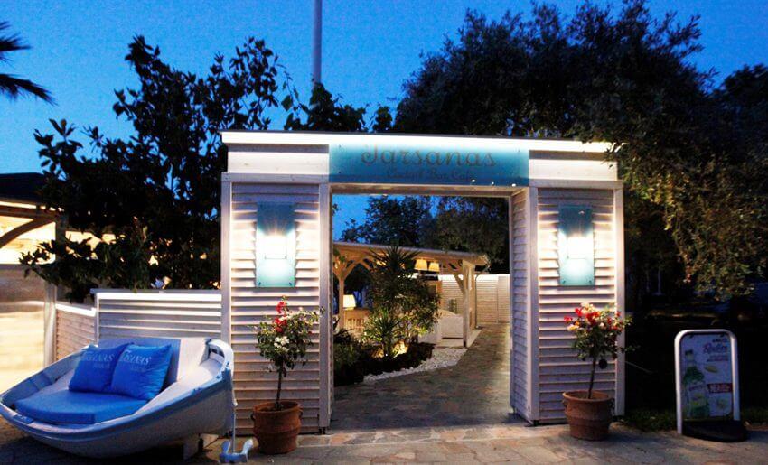 tarsanas beach villa cafe bar