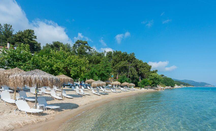 tarsanas beach villa tasos plaza