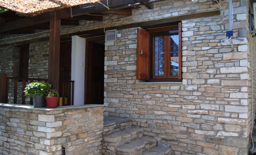 Aliki Stone House Tasos grcka kuca