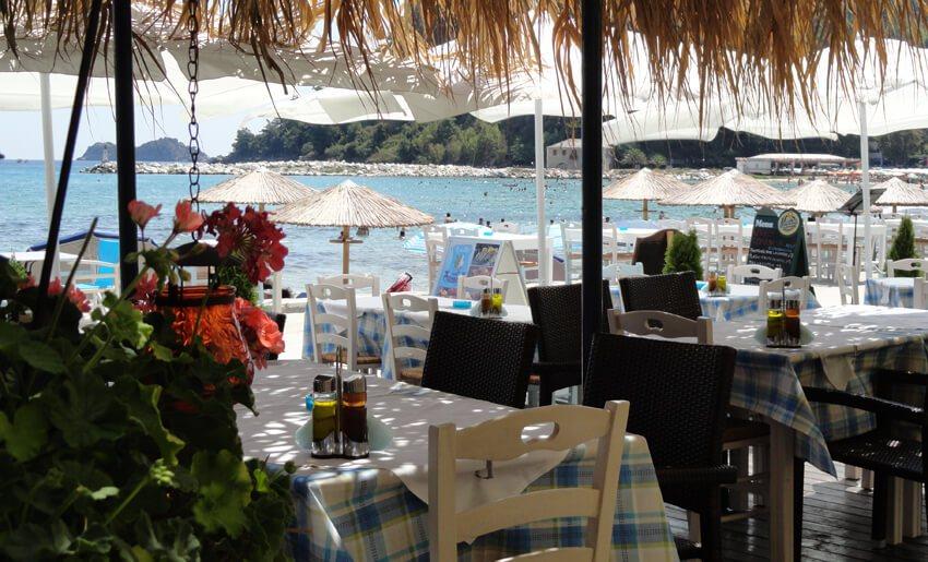 Blue Sea Beach Boutique Resort tasos restoran