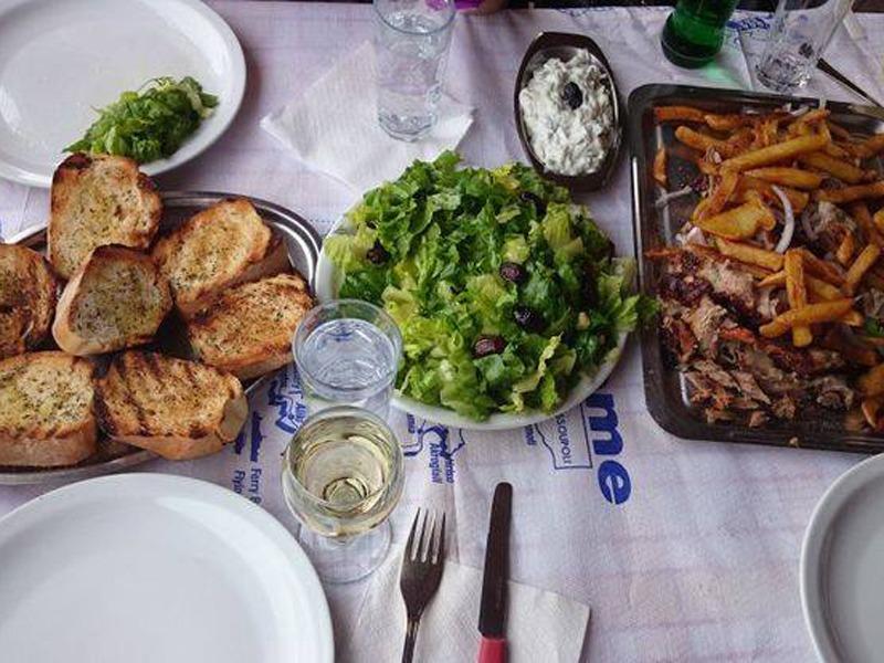 Taverna Iatrou grcka tasos jagnjetina