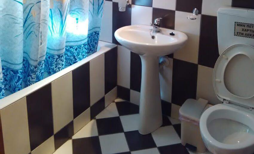 Venetia Vila Tasos letovanje smestaj kupatilo