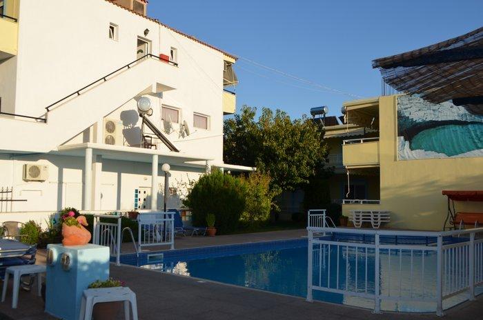 Vila dimitris tasos smestaj grcka letovanje bazen
