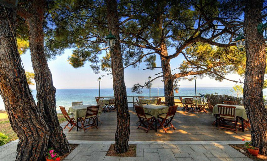 akti belvedre restoran smestaj tasos grcka