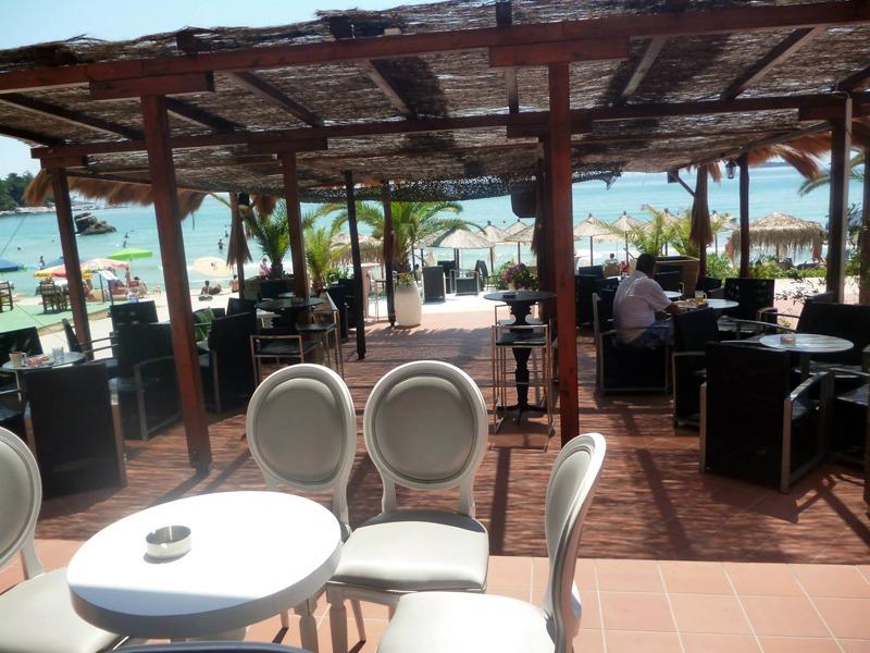beba beach bar tasos grcka