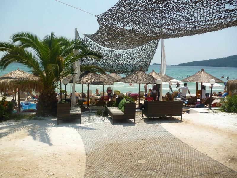 cafe beba beach tasos