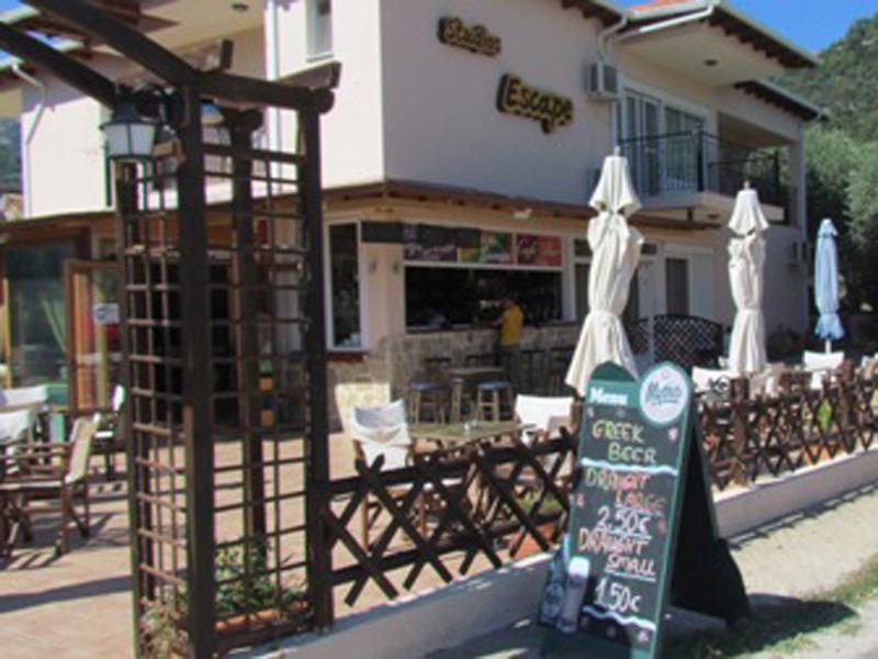 cafe escape tasos grcka letovanje