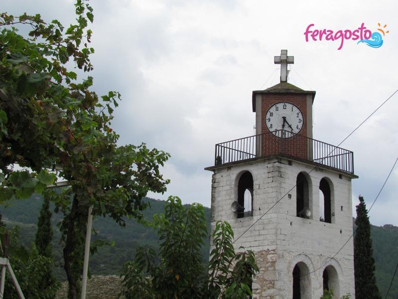 etno selo teologos tasos crkva