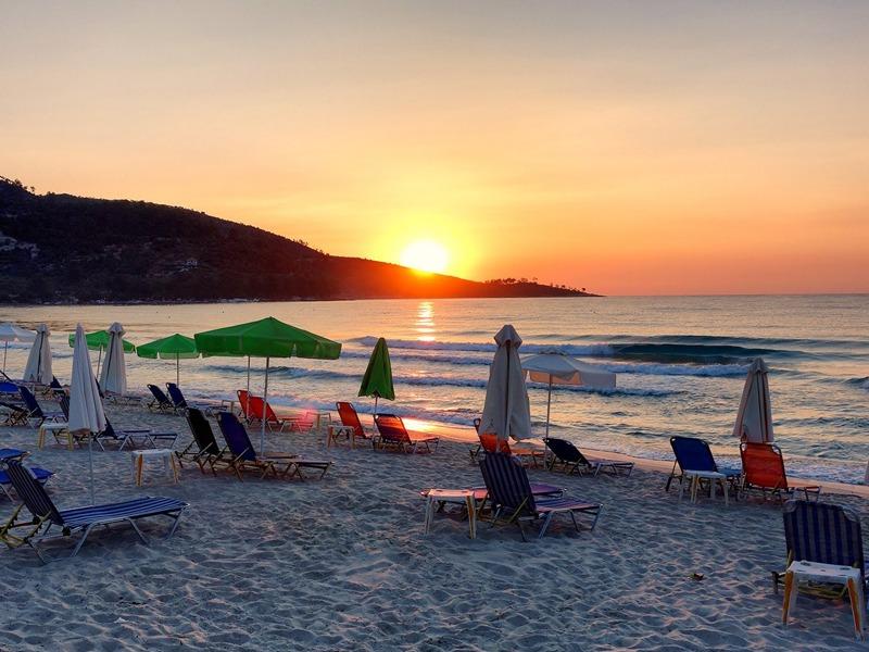 golden beach plaza tasos letovanje grcka