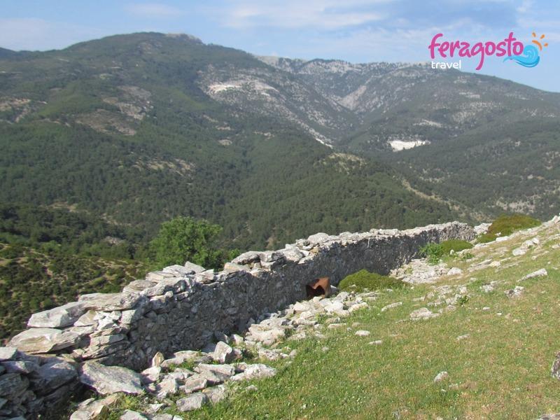 kastro tasos grcka leto