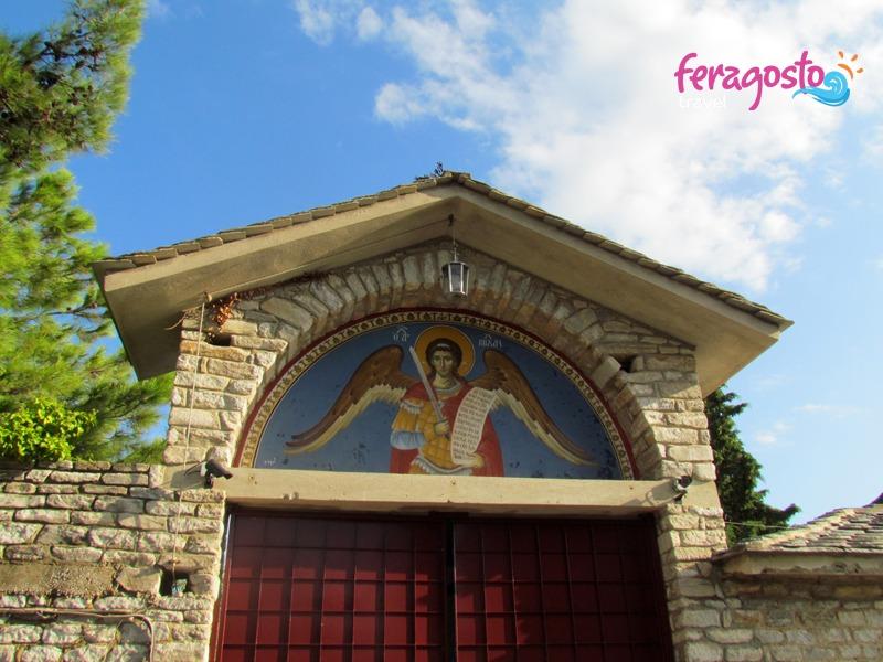 manastir svetog arhandjela mihajla tasos