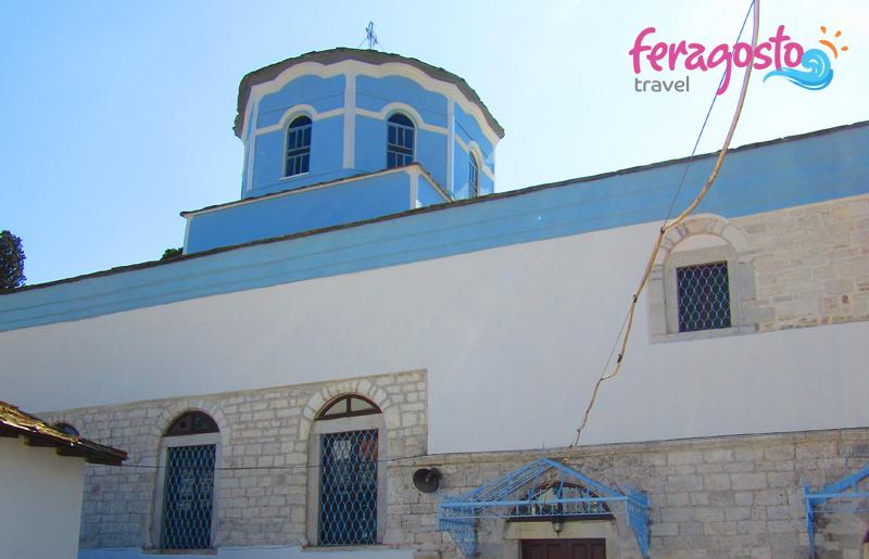 panagia manastir tasos grcka