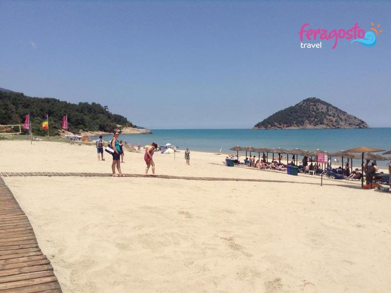 paradise beach grcka letovanje tasos