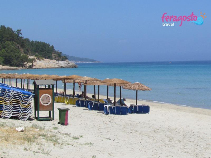 paradise beach grcka letovanje