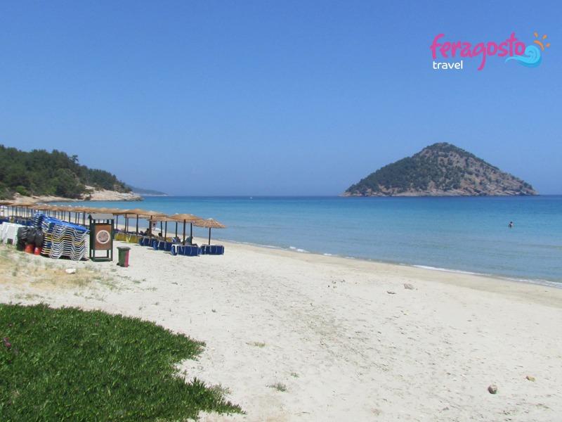 paradise beach grcka