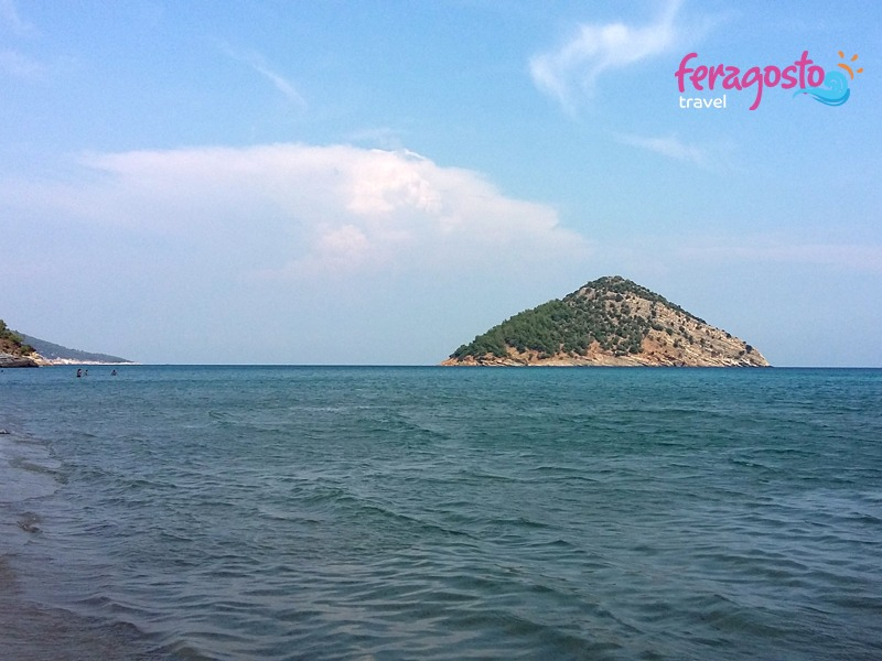 paradise beach tasos