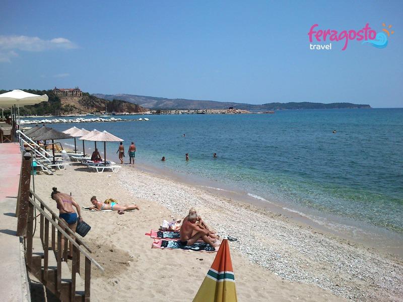 plaze na tasosu limenarija plaza grcka leto
