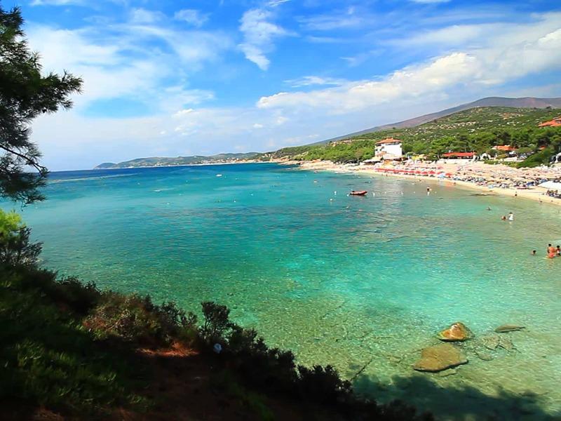 plaze na tasosu pefkari plaza grcka letovanje