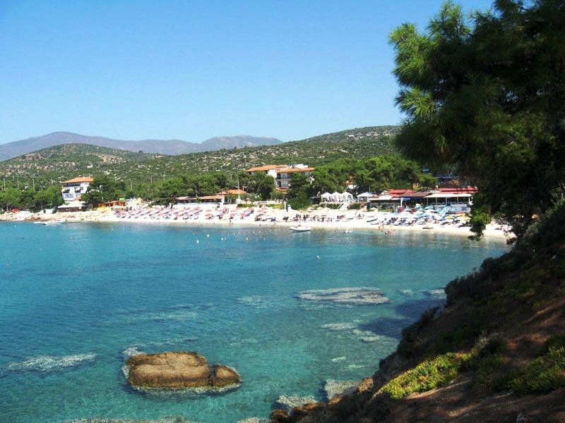plaze na tasosu pefkari plaza grcka