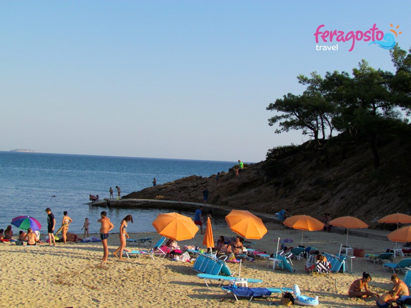 plaze na tasosu tripiti plaza grcka