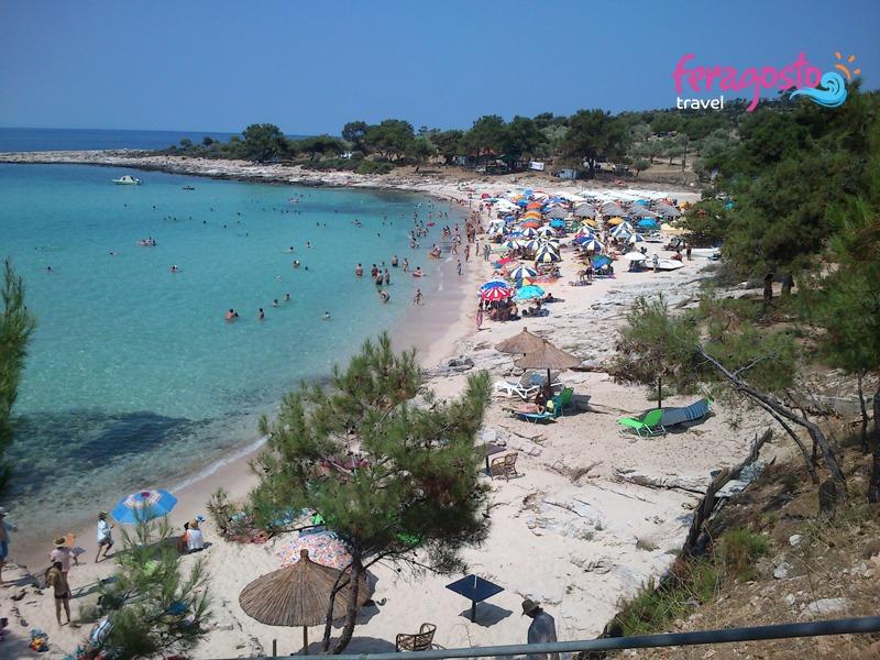 plaze tasos psili amos plaza grcka letovanje