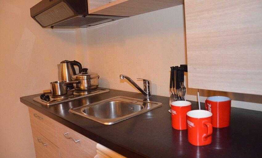 B Home Vila Tasos limenarija cajna kuhinja