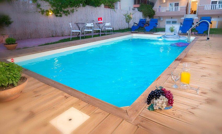 B Home Vila Tasos limenarija leto bazen