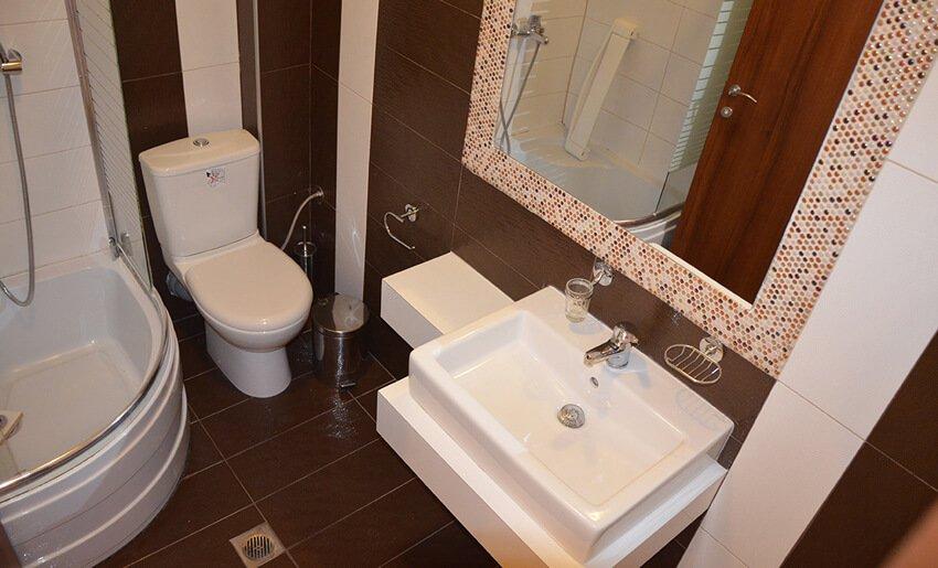 B Home Vila Tasos limenarija letovanje kupatilo