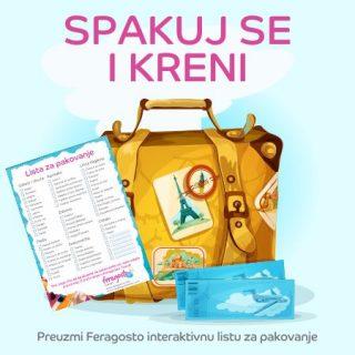 Lista za pakovanje baner